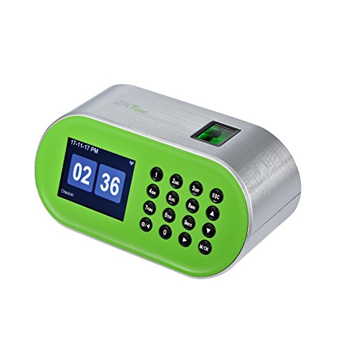 ZKTeco CT10 Desktop Fingerprint Time Clock Biometric Time Attendance Machine System Employee Recorder for Small Business by ZKTeco