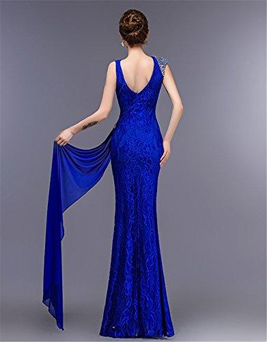 Drasawee Damen Königsblau Königsblau Kleid Damen Kleid Schlauch Kleid Damen Schlauch Drasawee Drasawee Schlauch ZpanqxwC8