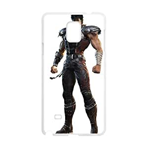 Fist Of The North Star Samsung Galaxy Note 4 Cell Phone Case White HHS