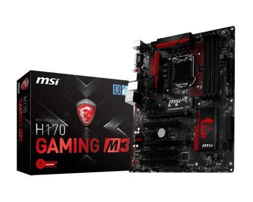MSI H170 GAMING M3 ATX Motherboard (Socket 1151) Multi H170GAMINGM3