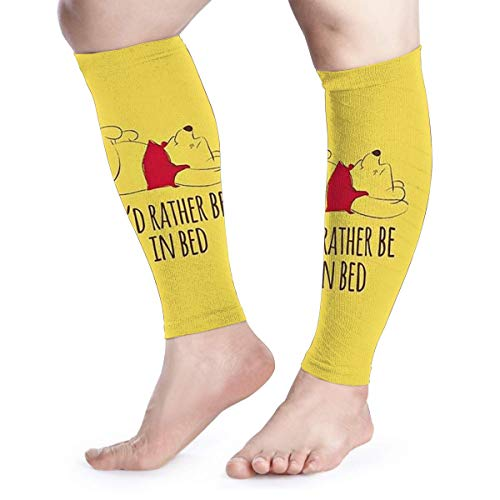 Winnie The Pooh Calf Compression Sleeves-Great for Men and Women - Ideal for Sports, Work, Flight,ect-Support Sore Muscles & Joints,1 Pair
