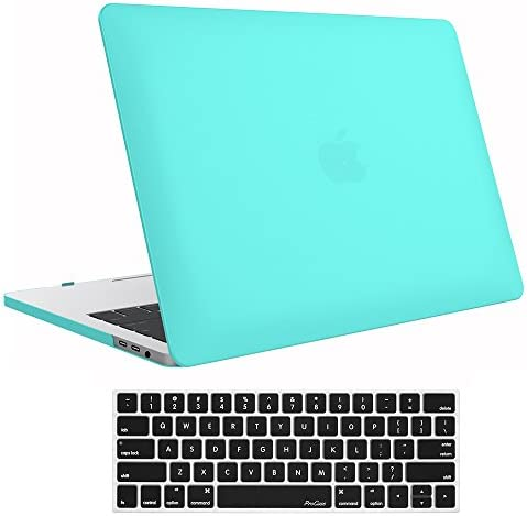 ProCase MacBook Release Keyboard Turquoise