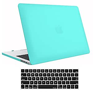 """MacBook Pro 15 Case 2017/2016 A1707, ProCase Hard Case Shell Cover Keyboard Cover Apple MacBook Pro 15"""" (Newest 2017/2016 Release) Touch Bar Touch ID Turquoise MacBook Pro 15 (A1707)"""