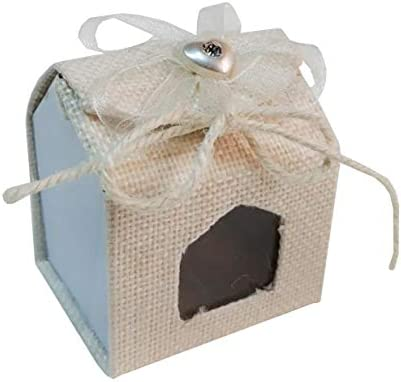 House Shaped Gift Giveaway Boxes 12 Pieces 45x55x5cm