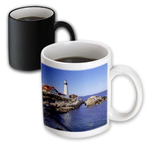 3dRose Mug Maine, Portland Head Lighthouse - US20 RER0011 - Ric Ergenbright (mug_90758_3) - 11oz - Transforming, - Maine Outlets Portland