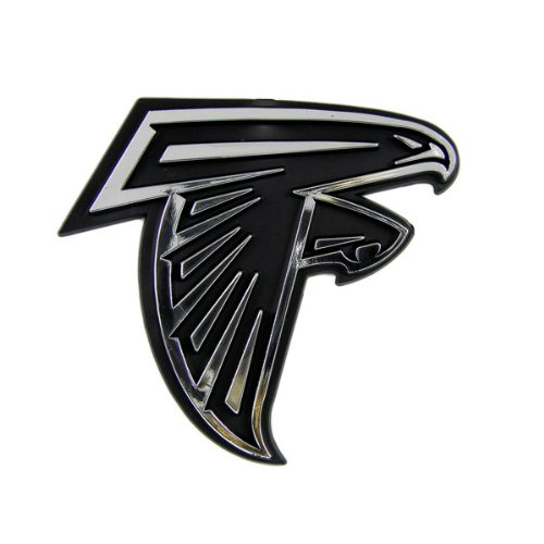 Atlanta Falcons Car 3D Chrome Auto Emblem ()