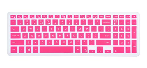 Keyboard Cover Compatible 2018 Flagship Dell G3/G5/G7 Series, 15 6 inch  Dell Inspiron 15 3000 5000 7000 Series, 17 3