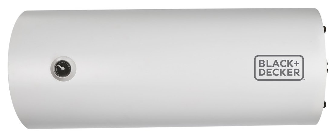 Black + Decker 25L Storage Water Heater - Horizontal,White