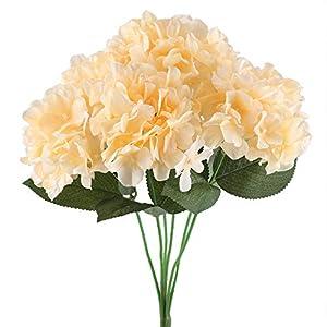 NAHUAA Silk Hydrangea Flowers 55