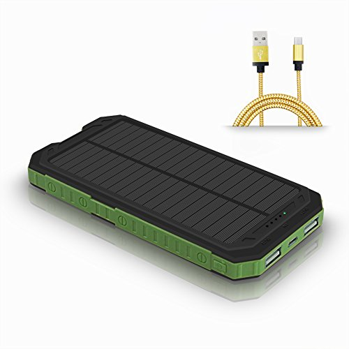 Ultralight Backpacking Solar Charger - 5