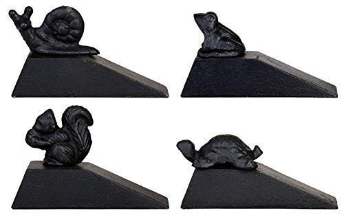Esschert Design LH54 Doorstop, Squirrel/Turtle/Snail/Frog by Esschert Design