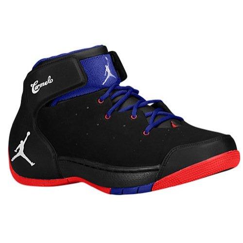 Nike Air Jordan Melo - Nike Air Jordan Melo 1.5 Mens Basketball Shoes 631310-025 Black 8.5 M US