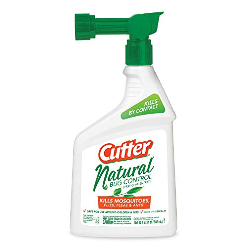 Cutter 95962 Natural Bug Control Spray Concentrate (HG-95962) (32 fl (Best Cutter Fly Killers)