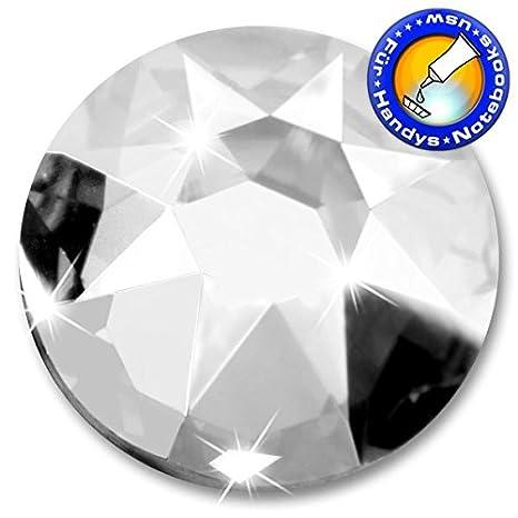 5 Stück SWAROVSKI Kristalle 2088 XIRIUS - KEIN Hotfix, Farbe Crystal, SS34 (Ø ca. 7,1 mm), inkl. ShineStone Wender/Positionierer SS34 (Ø ca. 7