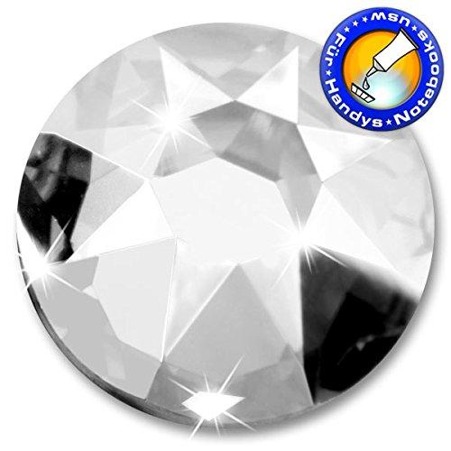 100 Stück SWAROVSKI ELEMENTS 2088 XIRIUS Rose Kein Hotfix, Crystal, SS16 (Ø ca. 4 mm), Strasssteine zum Aufkleben