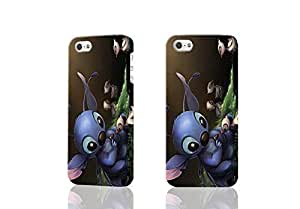 Lilo And Stitch Quote 3D Rough Case Skin, fashion design image custom , durable hard 3D case cover for iPhone 4 4S , Case New Design By Codystore