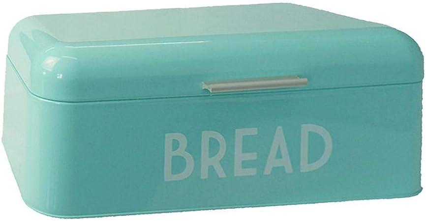 Dream-cool Contenedor de pan, caja de almacenamiento Caja de metal Cocina Contenedor de almacenamiento de repostería de pan retro de metal para panes, pan casero, bagels, pasteles, galletas supple: Amazon.es: Hogar