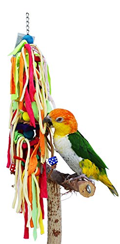 Birds LOVE Cotton Strands Preening Bird Toy for Small and Medium Size Birds