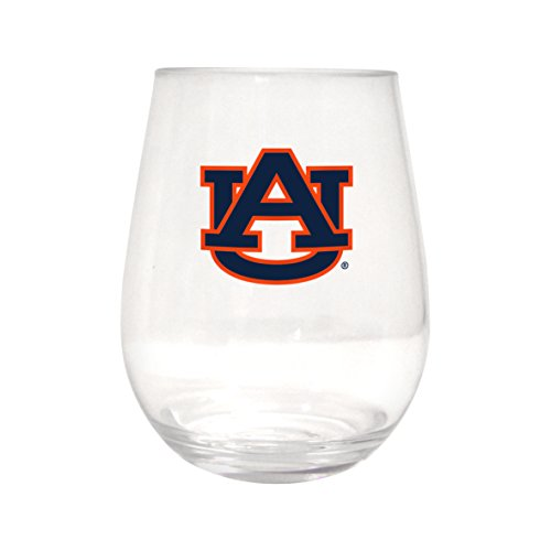 Auburn Tigers Plastic Curved Beverage Glass, 20-Ounce ()