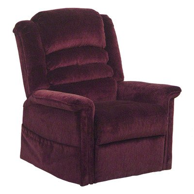 (Soother Pow'r Lift Full Lay-Out Chaise Recliner Color: Vino)