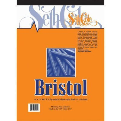 Bristol Board Pad Size: 19 x 24 by Seth - Bristol Board Size