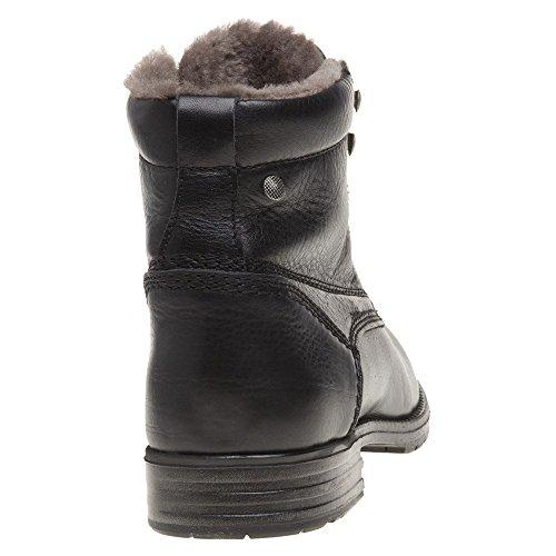 Zool Burford Heren Laarzen Zwart Zwart