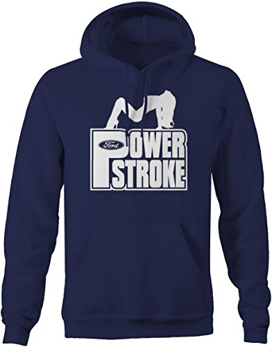 Powerstroke Diesel Sexy Girl Pose Ford F-Series Sweatshirt - 2XL