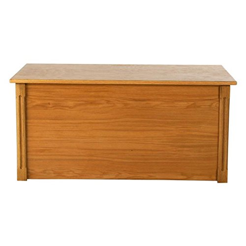 Wood Creations Toy and Blanket Chest with Cedar Base
