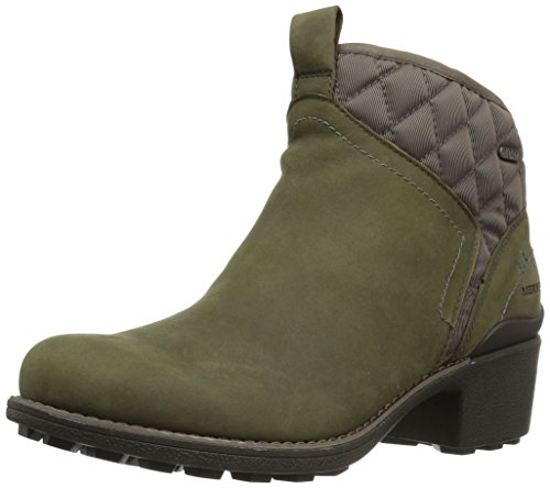 Olive Waterproof Womens Merrell Chateau Boot Pull Dusty Snow Mid HRrf8H
