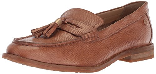 Hush Puppies Women's Chardon Penny Loafer, Natural Embossed Leather, 6.5 W -