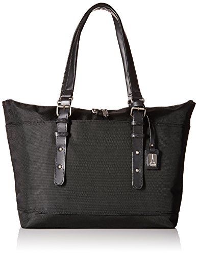 Travelpro Executive Choice Crew Ladies Tote, Black, One Size by Travelpro