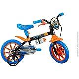Bicicleta Infantil Caloi Hot Wheels Aro 12 Preta
