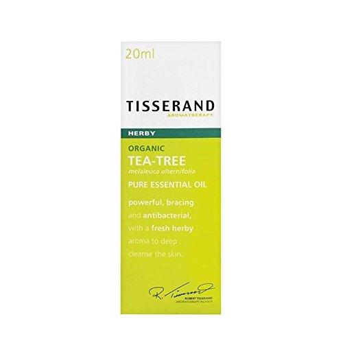 Tisserand Tea Tree Organic Pure Essential Oil 20ml (PACK OF 4)