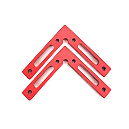 GLESOURCE Aluminium Alloy 90 Degree Positioning Squares 4.7
