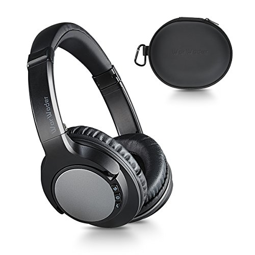 Bluetooth Headphones Over Ear, Lightweight, Comfortable for Prolonged Wearing, Hi-Fi Stereo Wireless Headphones, Built-in Mic and Wired Mode for PC/TV/Cell Phones/Travelling by WorWoder