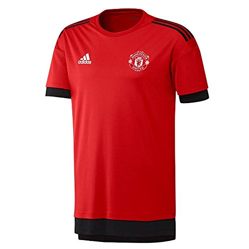 adidas Manchester United UCL Training Jersey 2017/18 (Red)-Medium Adults
