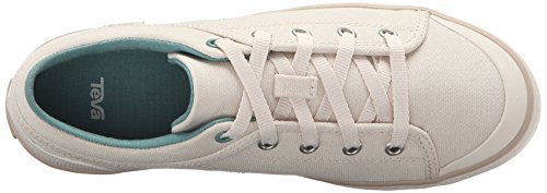 Teva Womens W Freewheel Washed Canvas Shoe Natural