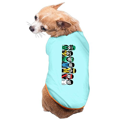 [Greenday Conductor Of Song Cartoon Doggie Pets Costumes Size L SkyBlue] (Mechanic Costume Diy)