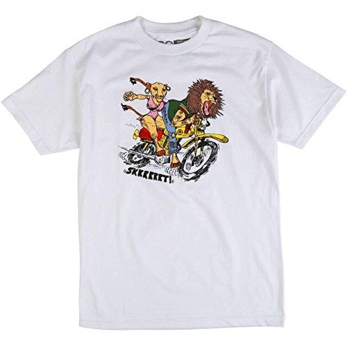 LRG Men's Ridahs T-Shirt, White, XL - Lrg Print Jersey
