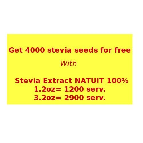 Discount +1000 (0.5gr) Stevia Seeds | Free Shipping WORLDWIDE | Fresh by Stevia-Store for sale