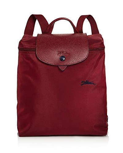Longchamp Le Pliage Club Nylon Backpack (Garnet Red)