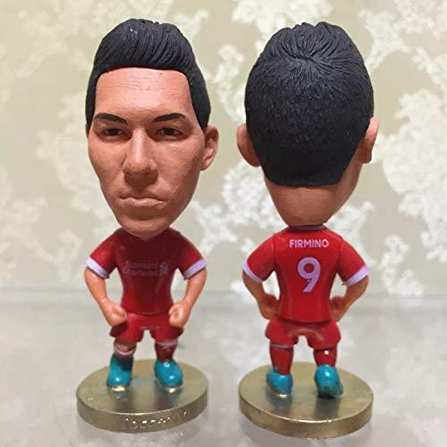 "Liverpool Roberto Firmino #9 Toy Figure 2.5"""