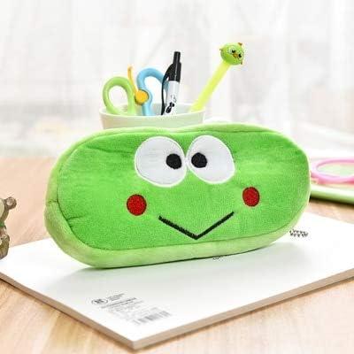 ADSIKOOJF Kawaii Estuche de lápices Dibujos Animados Totoro Stitch Cat Plush Bolsa de lápices Grande para niños Niños Artículos de papelería Escolar Suministros Juguetes No.8: Amazon.es: Hogar
