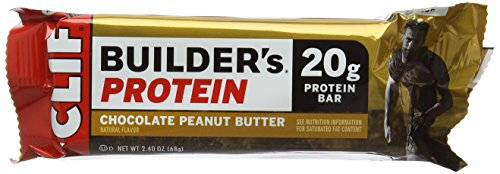 Clif Builder's Cocoa Dipped Crisp Bar Peanut Butter -- 12 ()