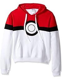 Pokemon Men's Pokeball Hoodie Sweatshirt