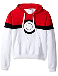 Pokémon mens Pokemon Pokeball Hoodie Sweatshirt