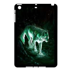 [Tony-Wilson Phone Case] For Ipad Mini Case -IKAI0448479-Wolf,Wolves and Moon Pattern