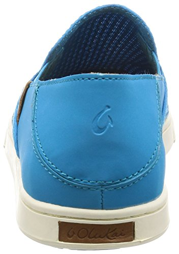 Vivid Leather Pehuea Woman Blue Sneaker Vivid Clay Olukai Blue wqtRAXUx
