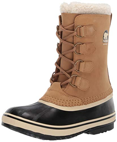 Sorel Women's 1964 PAC 2 Snow Boot, Buff, Black, 7.5 M US ()