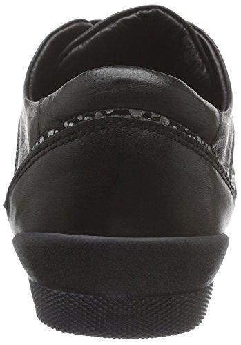 para Schwarz Negro 002 Mujer Andrea Conti Zapatillas 0342718 q4FZAYt